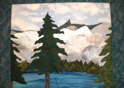 Trees and glaciers