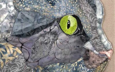 Their Eyes Speak: Different Techniques for Fabric Pet Portrait Eyes